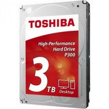 HDD SATA 3.0 TB Toshiba P300 7200rpm 64MB (HDWD130UZSVA)