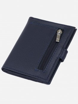 Кошелек-картхолдер ST Leather Accessories 19210 Темно-синий