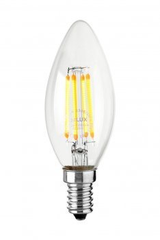 Світлодіодна лампа Delux Bl37B 6Вт 2700K 220В E14 (90011683)