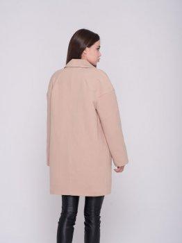 Пальто Santali 4164-3 Бежевое