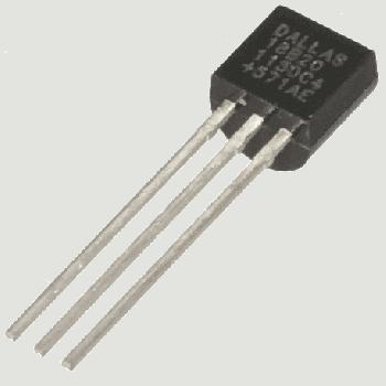 Цифровий термометр, датчик температури DS18B20