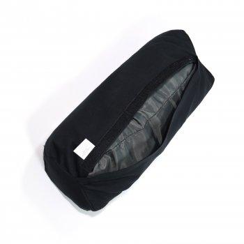 Масажний Валик (напіввалик аплікатор Кузнєцова) масажер для голови/шиї/спини OSPORT Lotus Eco (apl-024) Чорно-фіолетовий