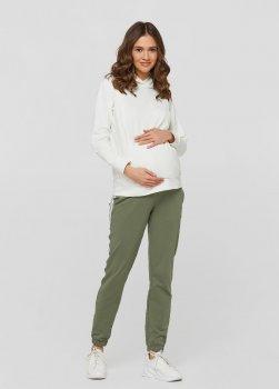 Спортивні штани з лампасами для вагітних ullababeublin Хакі