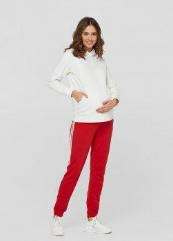 Спортивні штани з лампасами для вагітних ullababeublin Червоний