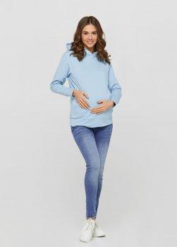 Джинси для вагітних ullababekins Світло-синій