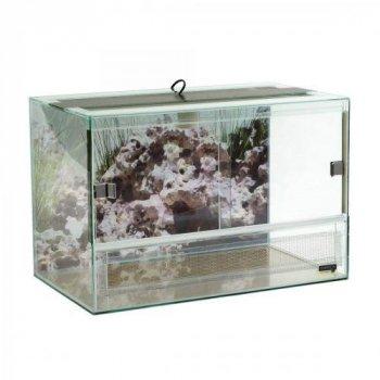 Террариум Природа стеклянный, 60х35х40 см