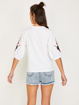 Блузка Koton 8YAK13825EK-001 Off White