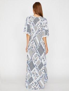 Платье Koton 8YAK88601CW-27C White Design