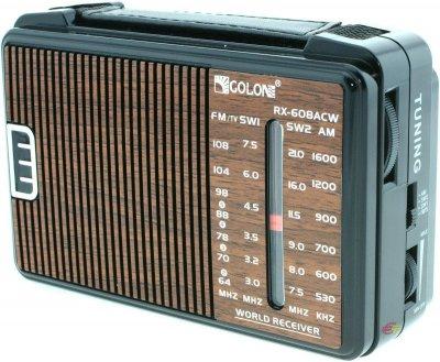Радиоприёмник всеволновой Golon RX-608 CW Brown (2_000871)