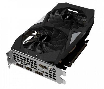 Видеокарта GeForce RTX 2060, Gigabyte, OC, 6Gb DDR6, 192-bit, HDMI/3xDP, 1755/14000 MHz, 8-pin (GV-N2060OC-6GD)
