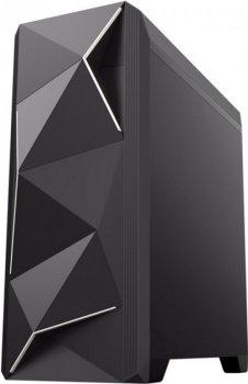 Корпус GameMax Ares Black, без БЖ, microATX/Mini-ITX, 1x92 мм LED, 437х173х423 мм, 4.15 кг (6830)