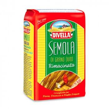 Итальянская мука для макаронных изделий Divella SEMOLA rimancinata (25 кг)