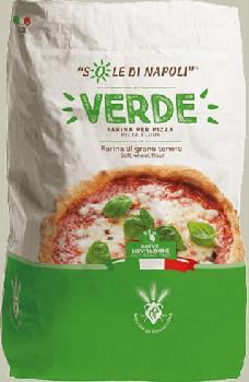 Итальянская мука для пиццы Sole di Napoli VERDE (25 кг)