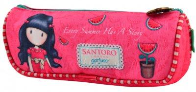 Пенал Yes Santoro Summer TP-03 м'який без наповнення (532685) (5056137199983)