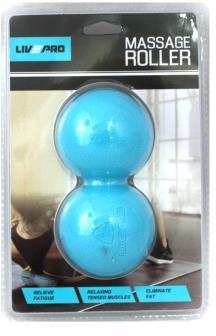 М'ячик подвійний для масажу LivePro Therapy Massage Peanut Ball (LP8502)