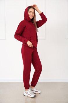 """Легкий спортивный костюм Fashion Girl """"Energy"""" бордовый"""