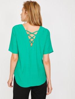 Блузка Koton 8YAK68347PW-750 Green