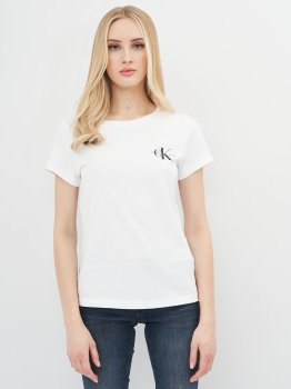 Футболка Calvin Klein Jeans 2 Pack Slim T-Shirt J20J214364-YAF Ck White