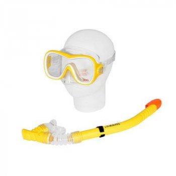 Набор для плавания Intex 55647 (маска, трубка) желтый