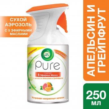 Аэрозольный освежитель воздуха Air Wick Pure Апельсин и Грейпфрут 250 мл (5011417570074)