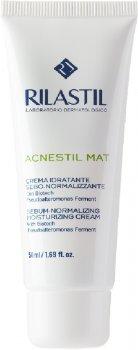 Крем нормализующий успокаивающий с матирующим действием Rilastil Acnestil для кожи склонной к акне 50 мл (8050444856994)