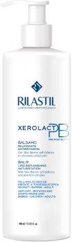 Бальзам відновлювальний ліпідний для сухої, чутливої й схильної до свербіння й атопії шкіри обличчя і тіла Rilastil Xerolact РО 400 мл (8050444858233)