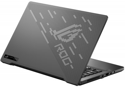 Ноутбук Asus ROG Zephyrus G14 GA401QM-K2065T (90NR05S6-M04100) Eclipse Gray