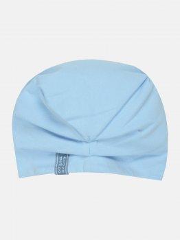 Демисезонная шапка-чалма Dembohouse Хатидже 21.02.003 44 см Голубая (2210200344202)