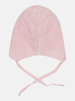 Демисезонная шапка с завязками Elf-kids Амалия 44 см Розовая (ROZ6400046072)