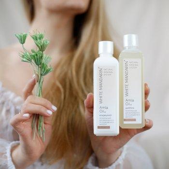Регенерувальний шампунь White Mandarin з гідролізатом протеїнів для фарбованого й пошкодженого волосся 250 мл (99100907101)
