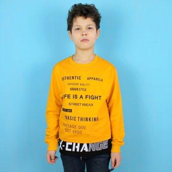 Лонгслив для мальчика Benini (5828жел) Желтый