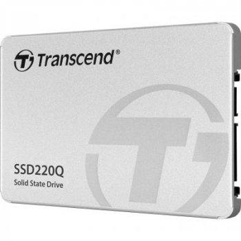 """Накопичувач SSD 2.5"""" 500GB Transcend (TS500GSSD220Q)"""