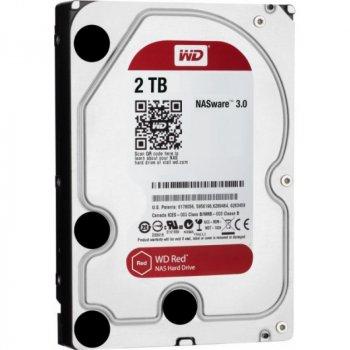 """Жорсткий диск Western Digital Red 2TB 5400rpm 256МВ WD20EFAX 3.5"""" SATA III"""