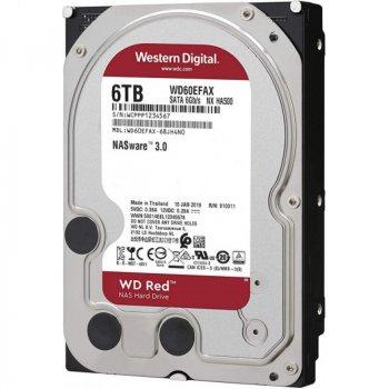 Жорсткий диск Western Digital Red 6TB 5400rpm 256MB WD60EFAX 3.5 SATA III