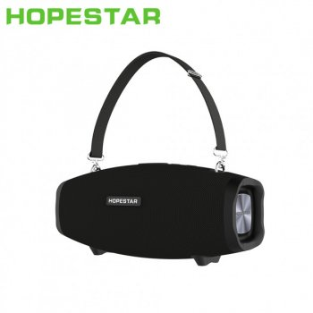 Портативна бездротова стерео колонка Hopestar H41 Чорна