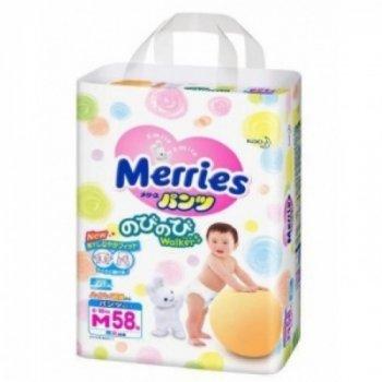 Трусики Merries (Мерриес) M (6-10кг) 58шт.