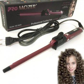 Плойка для волосся Pro Mozer Mz-6629 афрокудри для завивки з регулюванням температури Бордова (11941)