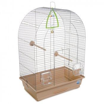 """Клетка для птиц """"Арка """", с напылением бежевая (4820157404690)"""