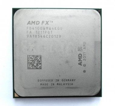 Процесор AMD FX-4100 3.6 GHz sAM3+ Tray 95w (FD4100WMW4KGU) Zambezi Б/У