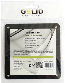 Комплект пилових фільтрів Gelid Mesh 120 Dust Filter KIT для 120 мм вентиляторів 3 шт. (SL-Dust-01)