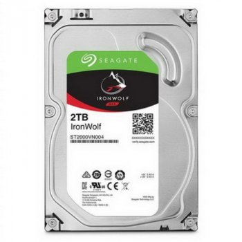 HDD SATA 2.0 TB Seagate IronWolf NAS 5900rpm 64MB (ST2000VN004)