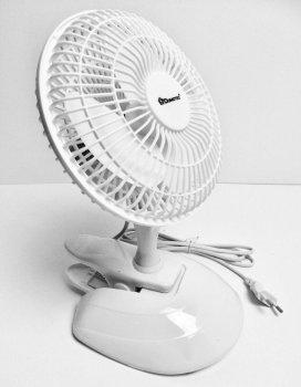 Настільний вентилятор Domotec MS-1623, 2 режими Білий (VO2010)