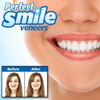 Зубы съемные виниры PERFECT SMILE VENEERS белоснежная улыбка (TV2001)