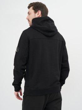 Худі Calvin Klein Jeans Monogram Sleeve Badge Hoodie J30J314036-BAE Ck Black