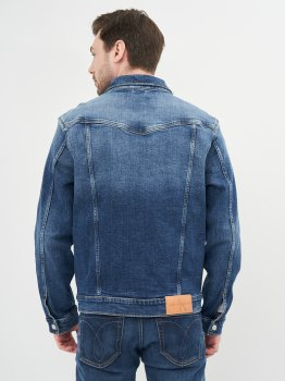 Джинсова куртка Calvin Klein Jeans Foundation Jacket J30J317246-1BJ Denim Dark