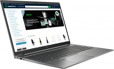 Ноутбук HP ZBook Firefly 15 G8 (1G3U1AV_V9) Silver