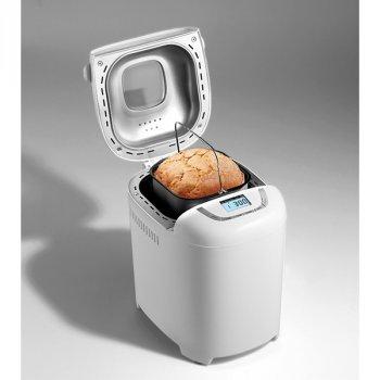 Хлібопічка Gorenje краща домашня хлібопічка з замісом на 15 програм для простого смачного хліба, пирога, кексу, йогурту, здоби, паски, паски і джему. Біла BM910WIIW