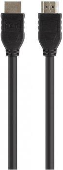Кабель Belkin HDMI (AM/AM) High Speed w/Ethernet 3 м Nickel plated (F3Y017BT3M-BLK)