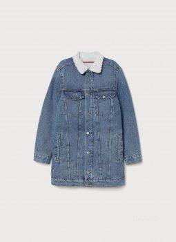 Джинсова куртка H&M 0661914-8 Синя