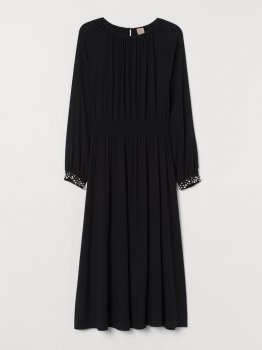 Плаття H&M 0819082-0 Чорне